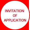 INVITATION OF APPLICATION